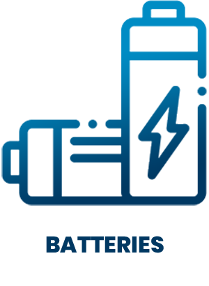 SD Icons - Batteries