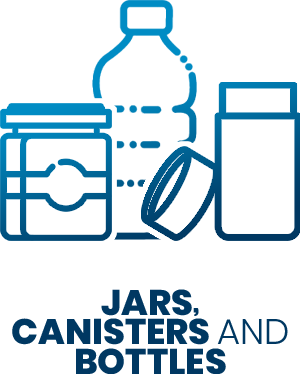 SD Icons - jars, canisters and bottles