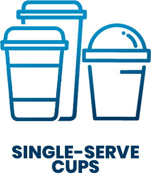 SD Icons - single serve cups
