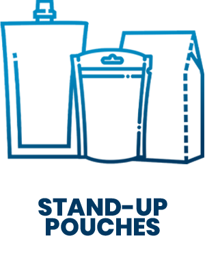 SD Icons - stand-up pouches